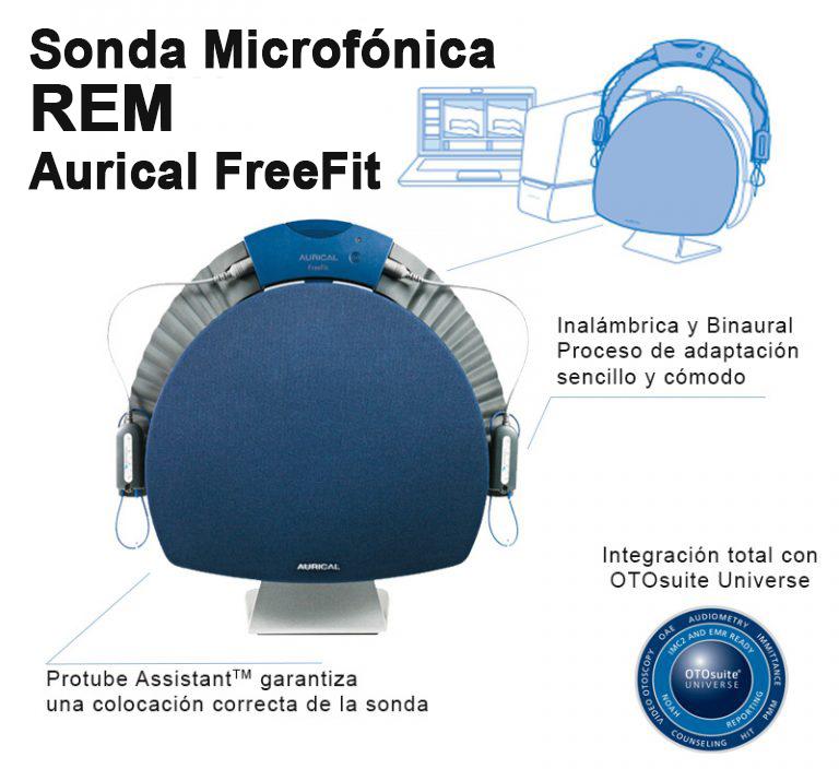 REM adaptación de audífonos